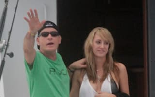 Charlie Sheen proposes to porn star girlfriend on holiday in Hawaii