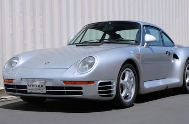 Porsche 959 to fetch over £600,000 in online auction