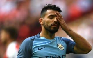 Aguero bemoans City's bad luck in 'tough year'