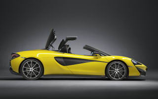 McLaren lifts the lid on its stunning new 570S Spider