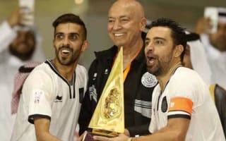 Xavi wins first trophy with Al Sadd
