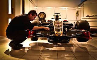 Behind the scenes at Lotus Formula 1 HQ
