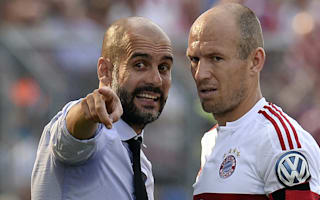 Robben confident Guardiola will succeed at Manchester City
