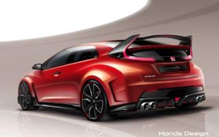 Aggressive Honda Civic Type R concept set for Geneva debut
