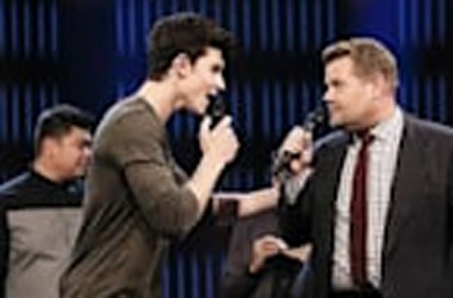 Shawn Mendes Sings Rihanna & Sia in James Corden Past & Present Riff-Off