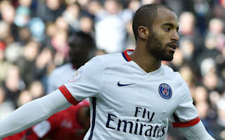 Guingamp 0 Paris St. Germain 2: Lucas at the double for much-changed champions