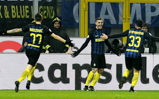 Inter 3 Lazio 0: Icardi double makes it four in a row