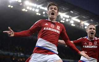 Manchester City 1 Middlesbrough 1: Last-gasp De Roon cancels out Aguero's 150th goal
