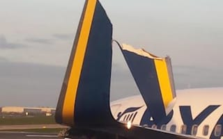 Two Ryanair planes collide at Dublin Airport