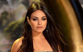 Mila Kunis shoots new film at London's Natural History Museum