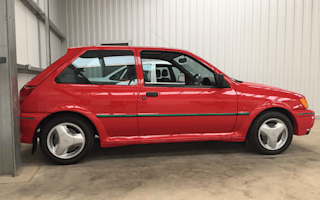 Immaculate 1990 Ford Fiesta RS Turbo to go under the hammer