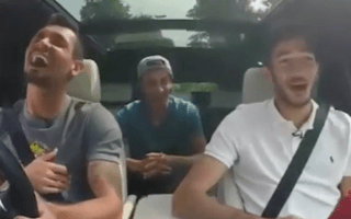 Footballer blasted after breaking traffic rules four times in online video