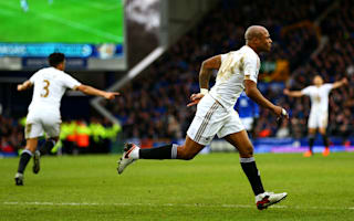 Everton 1 Swansea City 2: Ayew makes the difference on Guidolin debut