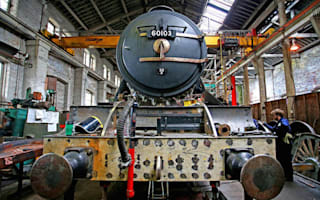The Flying Scotsman is back on track after £4.2m restoration