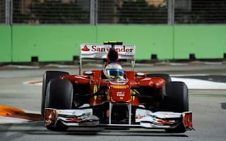 Red Bull no-show as Alonso takes shock Singapore pole