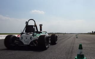 Video: Electric car smashes Guinness World Record