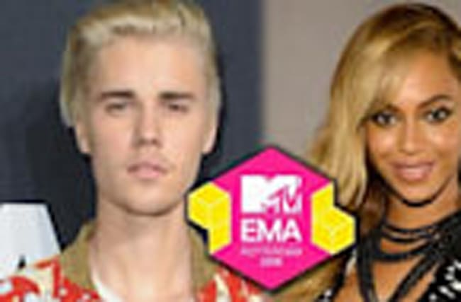 2016 MTV EMA Nominations Announced - Bieber & Beyonce Lead