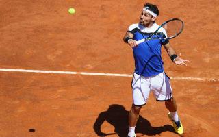 Fognini sets up Murray clash in Rome, brutal Isner beats Ramos-Vinolas
