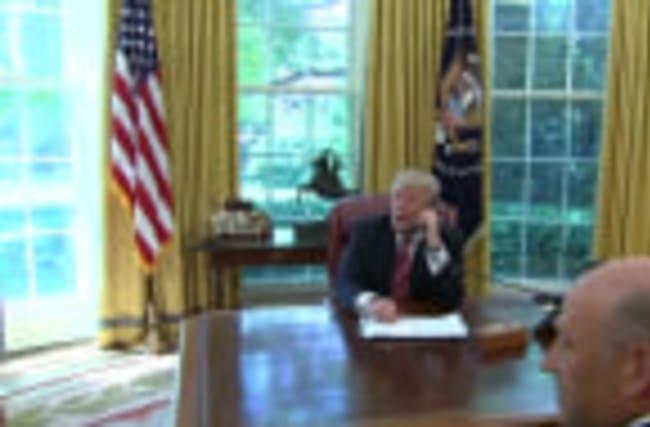Trump congratulates Irish prime minister on 'great victory'