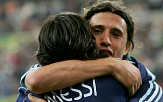 Crespo firmly on Messi's side in world's best debate