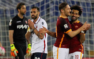 Roma 1 Bologna 1: Salah strike seals point