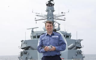 Navy rescues pigeon lost at sea