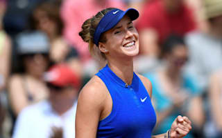 Svitolina ends Ivanovic run to set up Serena encounter
