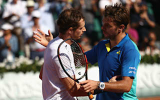 Less aggressive, less confident - Wawrinka assesses the difference in Murray