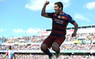 Granada 0 Barcelona 3: Suarez hat-trick wraps up La Liga title