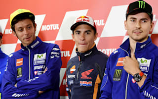 Marquez: Rossi relationship 'professional' again