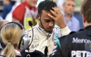 Hamilton confirms five-place grid penalty
