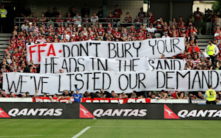 Arnold backs fans amid A-League boycott
