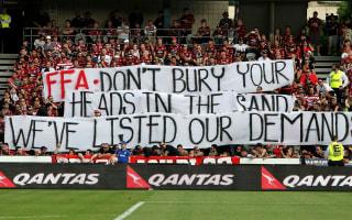 Arnold backs fans amid A-League boycott