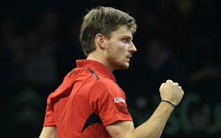Goffin to face Zverev in last eight