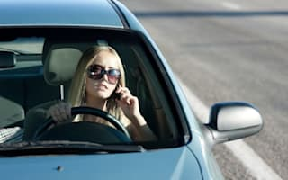 Motorists using phones while driving 'down by 47%'