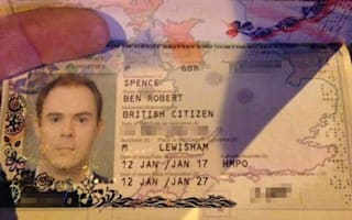 Man shocked to find his new passport has someone else's photo