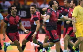Rio 2016: Egypt celebrate handball win in style
