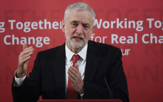 Jeremy Corbyn calls on the PM to stand up for rights of Palestinian people