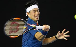 Nishikori books quarter-final berth as Kudla bows out