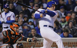 Rizzo blasts two homers to lead Cubs past Giants