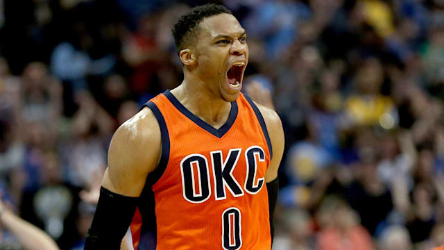 Westbrook earns NBA MVP award over Harden, James