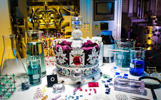 Scientists grow replica of crown jewels
