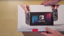 Nintendo Switch: su primer desempaquetado ya está en vídeo