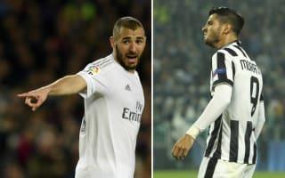 Benzema under pressure again as Morata return gives Zidane dilemma