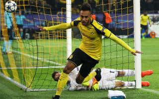 Borussia Dortmund 4 Benfica 0 (4-1 agg): Aubameyang hat-trick exorcises first-leg demons