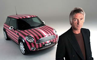 Paul Weller modded Mini created for charity auction