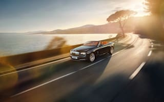 """Eye candy! Rolls-Royce unveils """"sexy"""" new soft-top"""