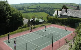Take three: Country retreats for tennis lovers