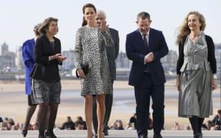 Kate Middleton visits Turner Contemporary in Margate