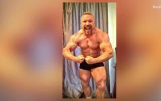 Mr. Universe reveals his shocking diet secret behind ripped body